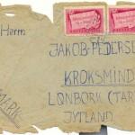 Brev til dansk kvartervært fra hjemvendt soldat i 1946.