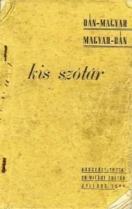 Dansk/ungarsk ordbog, udgivet i april 1945 i Lønborg/Vostrup