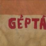 Ungarsk vimpel, der tilhørte 4. radio- og telegrafistbataljon fra Pécs.