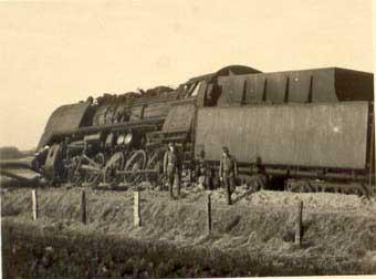 Den ungarske togtransport, der blev saboteret ved Herning den 19. februar 1945