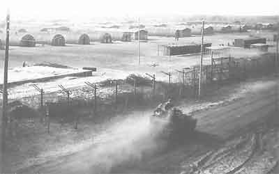Lejren Eselheide ved Paderborn var én af flere lejre med ungarske krigsfanger i den britiske besættelseszone i Tyskland.