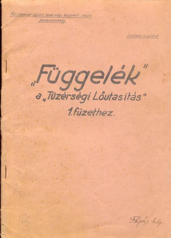 Ungarsk instruktionsbog
